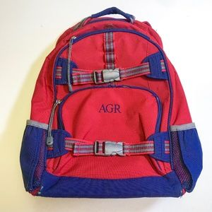 Pottery Barn Kids Red and Blu Backpack